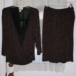 Coldwater Creek Woman 2-pc Dress Size 24